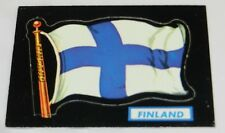 1970 Topps FLAGS OF THE WORLD Diecut Card/FINLAND