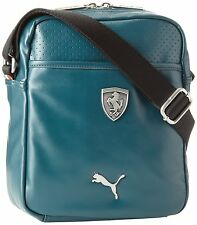 NEW PUMA UNISEX SHOULDER MESSENGER FERRARI CROSS BODY BAG GREEN PMMO2014