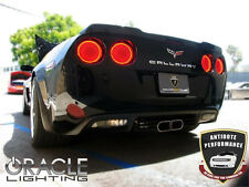 ORACLE Chevy Corvette C6 05-13 RED LED Tail Light Halo Angel Demon Eyes Rings