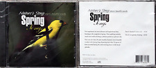 NATURE'S SONG, SPRING SONGS, 1  New Factory SEALED Blue Line Music OOP CD