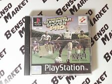 ISS INTERNATIONAL SUPERSTAR SOCCER PRO PS1 PS2 PS3 PLAYSTATION ITALIANO COMPLETO