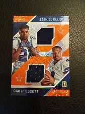 2016 unparalleled Ezekiel Elliot/Dak Prescott dual Jersey 22/49