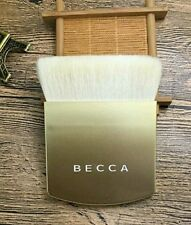 LIMITED Ed Gold BECCA The One Perfecting Brush powder contour highlighting New