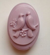 Birds - Soap Silicone Mould, Soap making - mold  PLASTER CANDLE CLAY