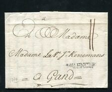 1770 Spain prephilatelic cover to Belgium