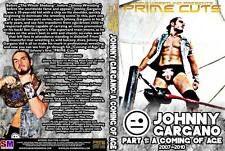 PRIME Cuts: Johnny Gargano Part 1 - A Coming of Age 2-Disc DVD
