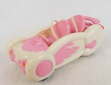 "Bratz Babyz 6"" Pink & White Itsy Bitzy Race Car Racer MGA Entertainment"