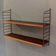 STRING REGAL PALISANDER MID CENTURY MODERN DESIGN ROSEWOOD LADDER SHELF 1960'S