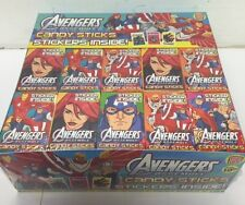 60 Boxes Candy Sticks  - Avengers - Party Bag Fillers Retro