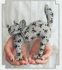 PATTERN - Scaredy Cat - quick and easy softie little PATTERN - Bunny Hill