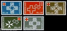 NVPH 889-893 POSTFRIS 100 JAAR NEDERLAND RODE KRUIS RED CROSS CAT.WRD. 2,30 EURO