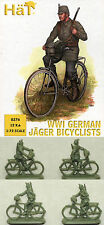 1:72 FIGUREN 8276 WWI GERMAN JÄGER BICYCLIST - HÄT