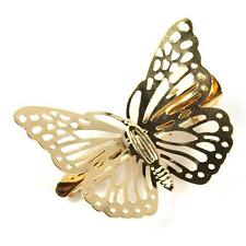 New Gold Hollow Women Girl Lady Butterfly Hair Clip Headband Hair Accessories