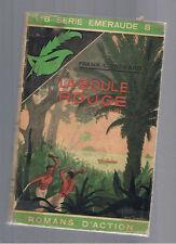 LA BOULE ROUGE FRANK. L. PACKARD   MASQUE JAQUETTE SERIE EMERAUDE 1938