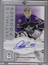 07-08 Ultimate Jonathan Bernier Auto Rookie Card RC #126 Mint /399