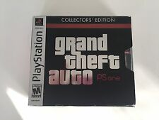 Grand Theft Auto Collector's Edition (Sony PlayStation 1, 2002) Complete PS1