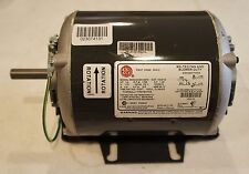 US Motors NIDEC Electric Motor 1/4 HP 1725 RPM 115V for Belted Fan Blower Duty