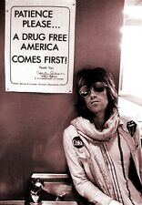 Keith Richards Drug Free POSTER 72' Rolling Stones Rare