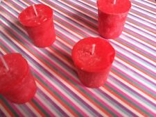 2oz Natural Palm Wax Scented 15 Hour Votive Candle Fresh Cut Roses