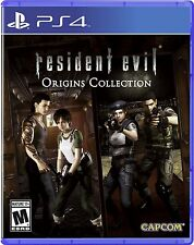 Resident Evil: Origins Collection [PlayStation 4 PS4, HD Survival Horror] NEW