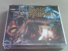 IRON MAIDEN - CAUGHT SOME FLU IN SHEFFIELD -LIVE CD & DVD- SOMEWHERE ON TOUR '86