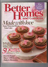 Better Homes and Gardens Magazine February 2009 Back Issue FAST FREE SHIPPING