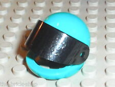 Casque minifig LEGO TECHNIC Teal Figure Helmet ref 2715 / Set 8245 8482 8266 ...