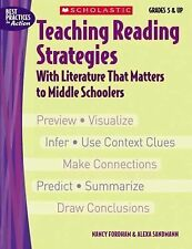 Teaching Reading Strategies with Literature That Matters to Middle Schoolers...