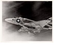Douglas Skyhawk A4D VX-5 China Lake Calif.Navy Fighter Aircraft Photo 8x10 1960