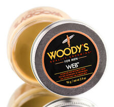 Woody's Quality Grooming for Men Texture Web with Matte Finish Pomade 3.4oz.