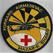 US ARMY MAZAR-E SHARIF PATCH           'FORWARD AIRMEDEVAC'           FULL COLOR