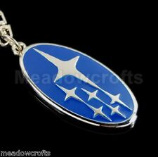 Subaru Key Ring NEW with Gift Box - Impreza BRZ Outback Legacy XV Forester Chain