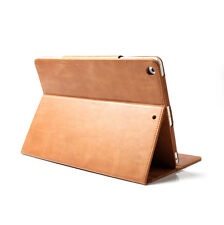 Boriyuan Real Smart Genuine Leather Case Cover For iPad Air 2/1 ipad 4 3 Pro 9.7
