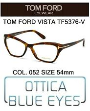 Occhiali da Vista TOM FORD TF5376V 052 54mm eyeglasses brillen  FT CAT EYE ITALY