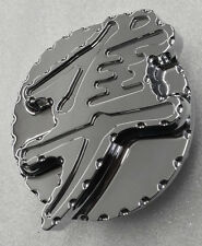 Hayabusa Custom Huge 3D Chrome Fuel/Gas Cap w/Ball Cut Edges!! 08-11-12-13-15-16