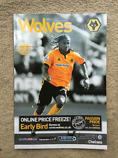 Wolverhampton Wanderers v Chelsea - Barclays Premier League 2009/10 Programme