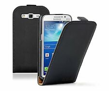 Ultra Slim BLACK Leather Case Cover for Samsung Galaxy Grand 2 II SM-G7102 Dual