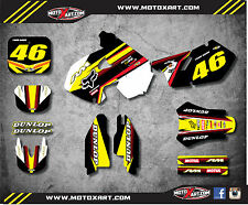 Full Custom Graphic Kit Suzuki RM 250 1999 2000 SPEEDER STYLE decals stickers