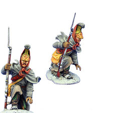 NAP0496 French Dismounted Lancer Officer Kneeling by First Legion