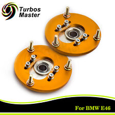 Camber Plates for BMW E46 Pillow Adjustable 318 325i 325is M3 For Coilover Kits