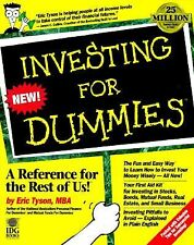 Investing for Dummies by Eric Tyson (1996, Paperback)-Fun & Easy Way to Learn