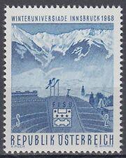 Österreich Austria 1968 ** Mi.1257 Olympische Spiele Winter Olympic Games