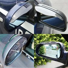 2 Pcs Universal Rear View Black Side Mirror Rain Snow Shield For Car Auto Hot