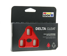 Look Delta Red - Bi Material Road Bike Pedal Cleats