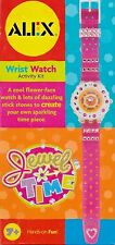 Alex Jewel Time Wrist Watch Create Your Own Sparkling Time Piece Activity Kit