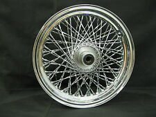 """Chrome Ultima 80 Twisted Spoke 16x3"""" Front Wheel for 1984-1999 FXST and FXDWG"""