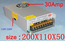 DC12V 30Amp 260W Power Supply Adapter 110-220V AC/DC Switching Power