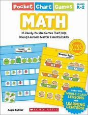 Pocket Chart Games: Math : 15 Ready-To-Use Games That Help Young Learners...