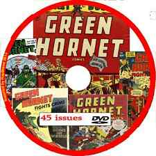 Green Hornet Comics on DVD 45 issues includes viewing software