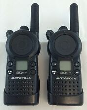 Motorola CLS1110 5-Mile 1-Channel UHF 2-Way Radio Good Condition Lot of 2